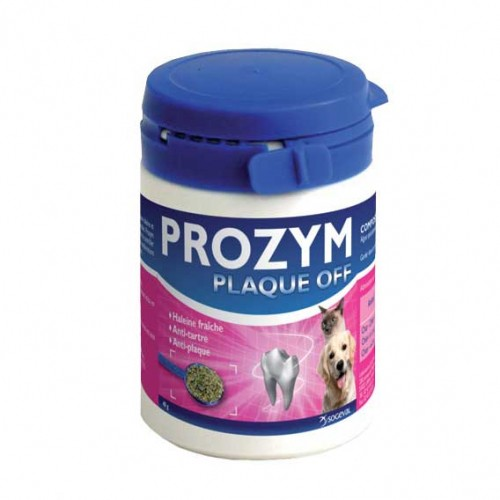 Soin et hygiène du chien - Prozym Plaque Off pour chiens