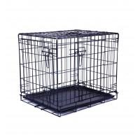 Caisse de transport pour chien - Cage en métal pliable Wire Crates M-Pets