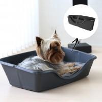 Couchage pour chien - Corbeille pliable et coussin Wonderfold CooCoo Design