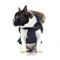Manteau pour chien - Manteau pour chien Whistler Bleu Milk & Pepper