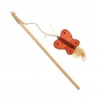Canne à pêche pour chat - Canne à pêche papillon Rosewood