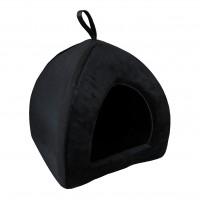 Dôme et maison pour chat  - Tipi All Black Dark Aimé