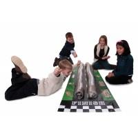 Aire de jeu pour furet - Tapis de course Grand Prix Marshall