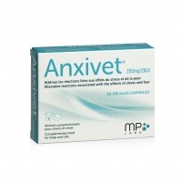 Anti-stress pour chien et chat - Anxivet MP Labo