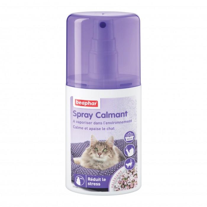 Stress, comportement chat - Spray calmant pour chats