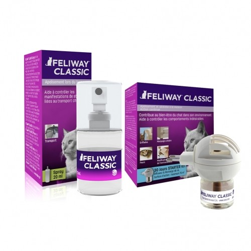 Stress, comportement chat - Feliway® Pack Tranquilité anti-stress pour chats