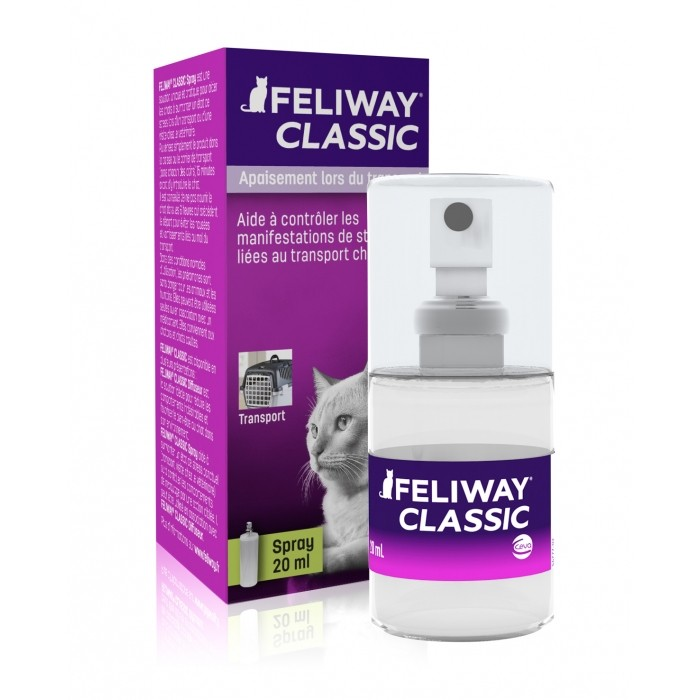 Stress, comportement chat - Feliway® Classic Spray pour chats