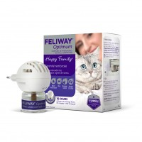 Anti-stress pour chat - Feliway® Optimum diffuseur + recharge (kit complet) Ceva