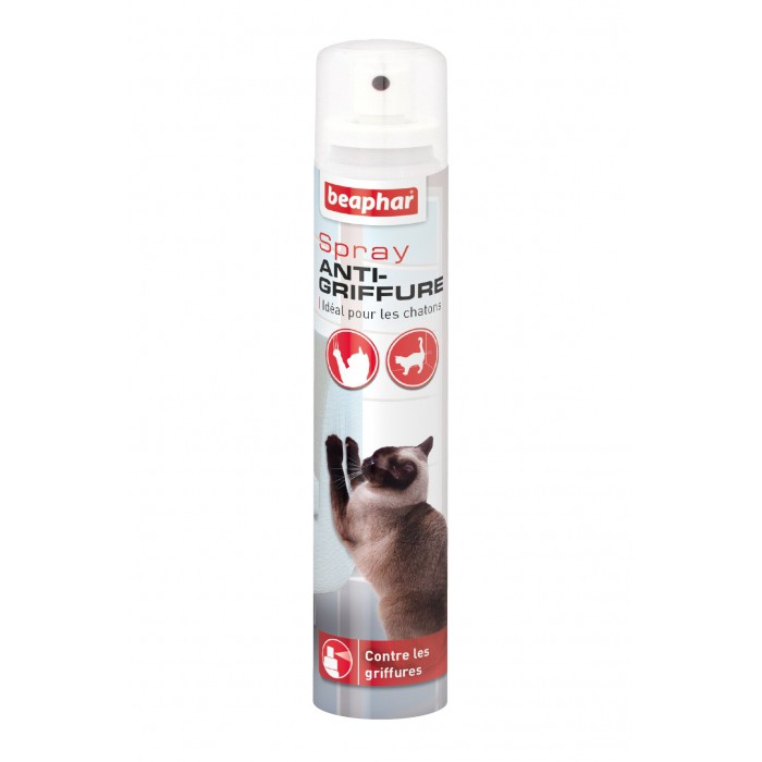 Stress, comportement chat - Spray anti-griffure pour chats