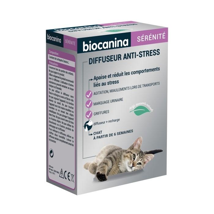 Stress, comportement chat - Diffuseur Anti-Stress Sérénité pour chats
