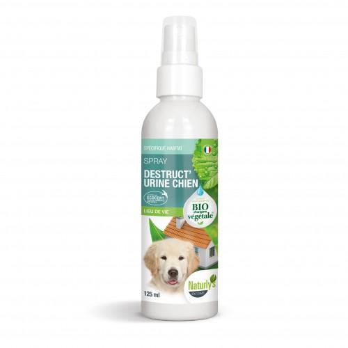 Stress, comportement chien - Spray Bio Destruct'urine Chien pour chiens