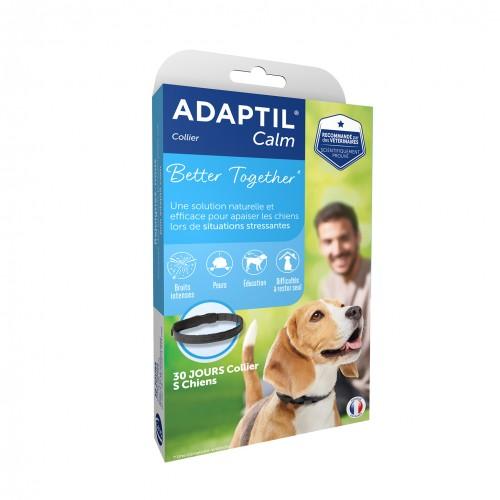 Stress, comportement chien - ADAPTIL® Calm collier pour chiens