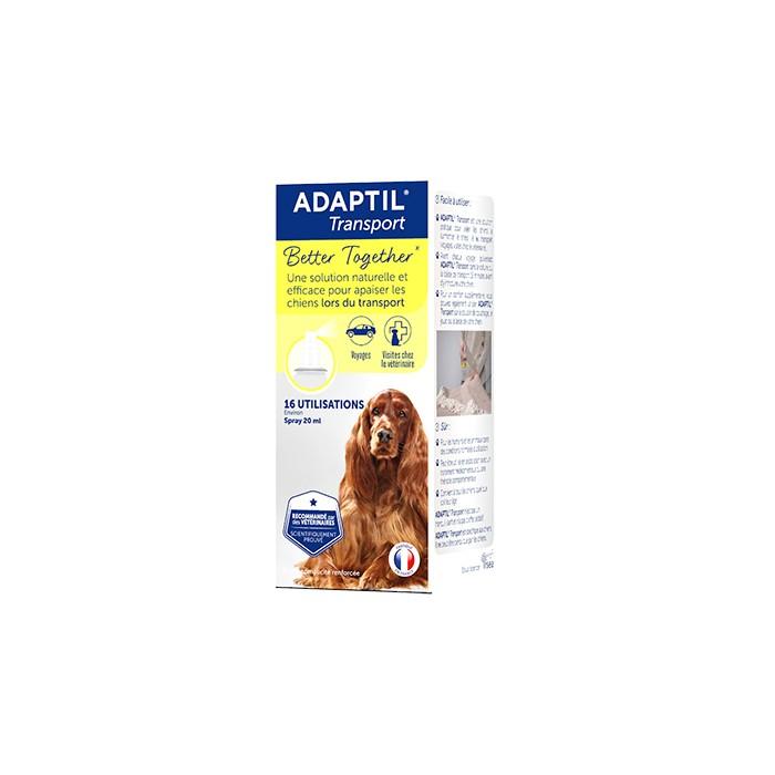 Stress, comportement chien - ADAPTIL® Transport pour chiens