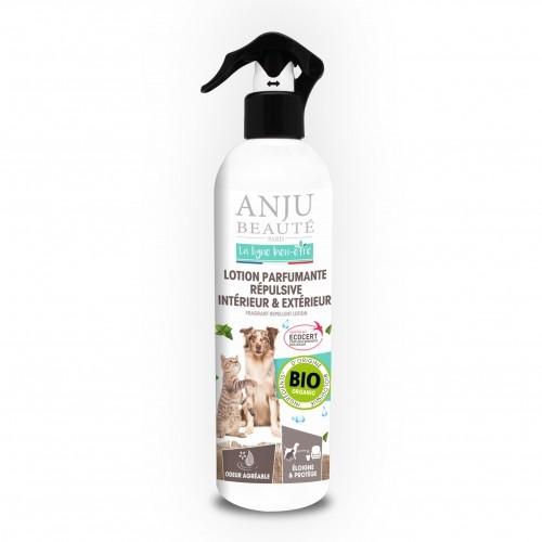 Stress, comportement chien - Lotion parfumante répulsive intérieur et extérieur  pour chiens