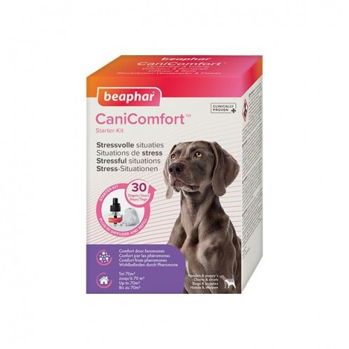 Stress, comportement chien - Diffuseur CaniComfort® pour chiens