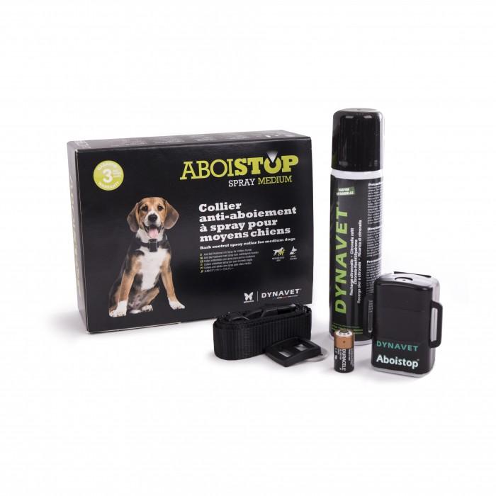 Stress, comportement chien - Collier Aboistop à la citronnelle pour chiens