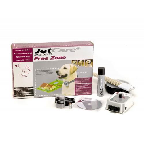 Stress, comportement chien - Clôture à spray Jetcare Free Zone pour chiens