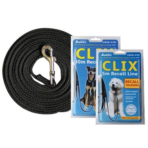 Stress, comportement chien - Laisse longue Clix pour chiens