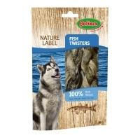 Friandises pour pour chien - Peau de cabillaud Naturel Label  Bubimex