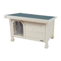 Niche pour chien - Niche en bois avec toit plat Zolux
