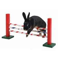 Jouet pour lapin - Obstacle en hauteur Agility Kerbl