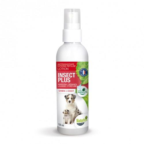 Tiques, puces & vers - Lotion Insect Plus chien & chiot pour chats