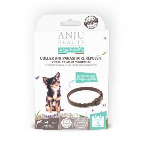 Tiques, puces & vers - Collier antiparasitaire répulsif chien pour chiens
