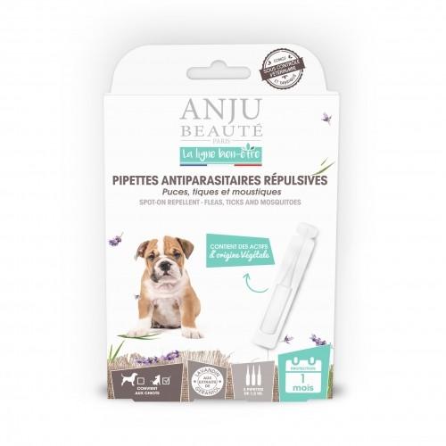 Tiques, puces & vers - Pipettes antiparasitaires répulsives chiot pour chiens