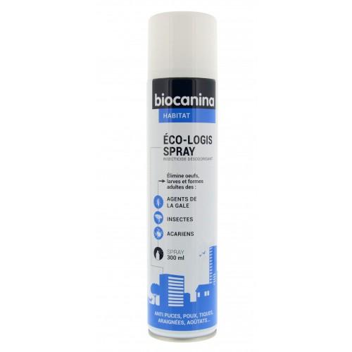 Tiques,  puces & vers - Eco-Logis Spray pour chats