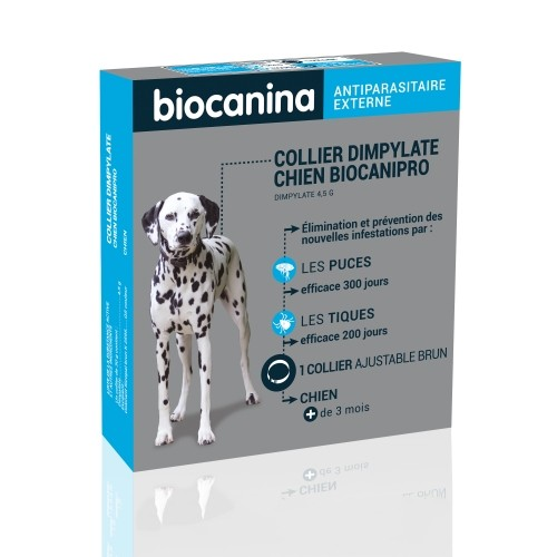 Tiques, puces & vers - Biocanipro pour chiens