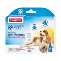 Antiparasitaire pour chien - Pipettes DiméthiCARE Beaphar
