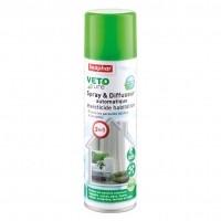 Tiques, puces & vers - Spray et diffuseur 2 en 1 Vetopure