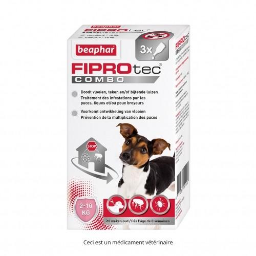 Tiques, puces & vers - Fiprotec Combo Chien pour chiens