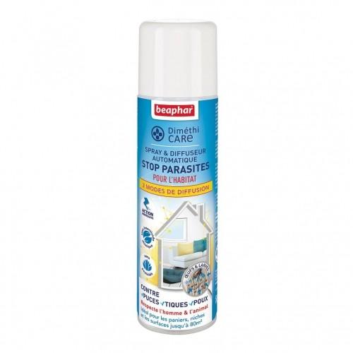 Tiques, puces & vers - Spray & diffuseur automatique DiméthiCARE Stop Parasites pour chiens