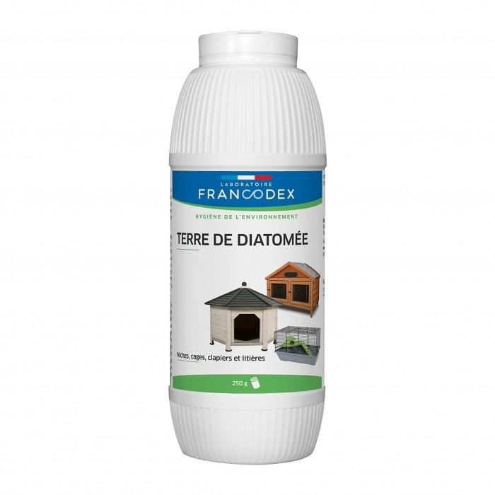 Tiques, puces & vers - Poudre insecticide Terre de Diatomée pour chiens