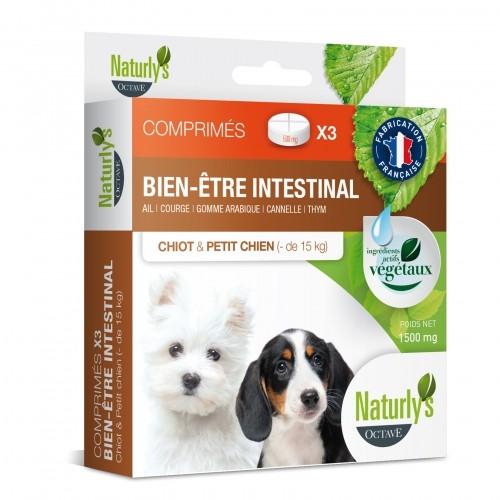 Tiques, puces & vers - Comprimés Hygiène intestinale  pour chiens