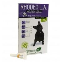Anti-puces, tiques et moustiques - Rhodeo L.A. chien Greenvet