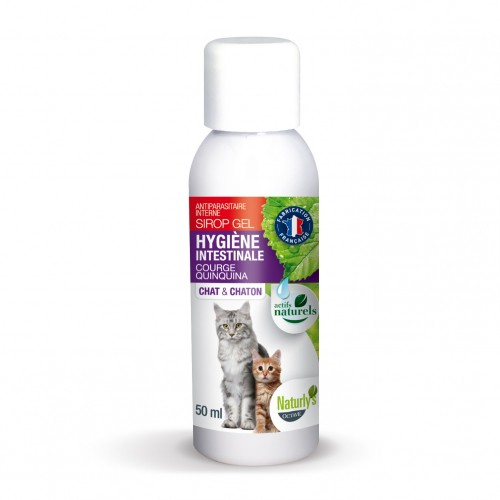 Tiques,  puces & vers - Sirop Gel Regul Vers  pour chats