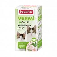 Tiques,  puces & vers - Vermipure Comprimés Purge pour chat