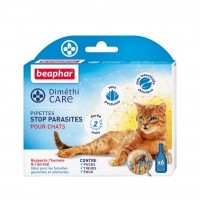 Antiparasitaire pour chat - Pipettes DiméthiCARE Beaphar