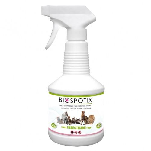 Anti-puces et tiques - Spray répulsif Biospotix