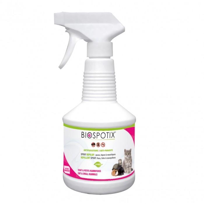 Biospotix spray pour chat anti puces et tiques biogance wanimo - Spray anti puce chat ...