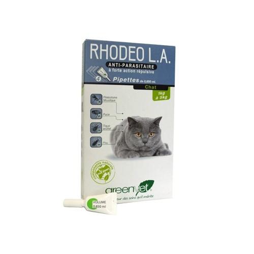 Tiques,  puces & vers - Rhodeo L.A. chat pour chats