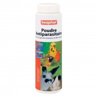 Antiparasitaire pour cage - Poudre antiparasitaire Beaphar