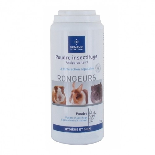 Tiques, puces & vers - Poudre insectifuge pour rongeurs