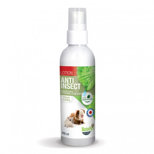 Tiques, puces & vers - Lotion anti-insect pour rongeurs