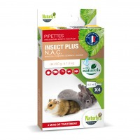 Tiques, puces & vers - Pipettes Insect Plus NAC