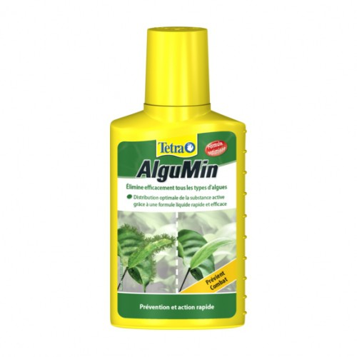 Traitement et entretien - Tetra Aqua Algumin pour poissons
