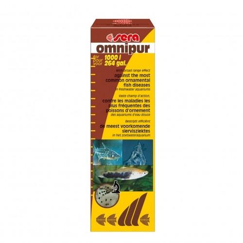 Traitement et entretien - Omnipur pour poissons