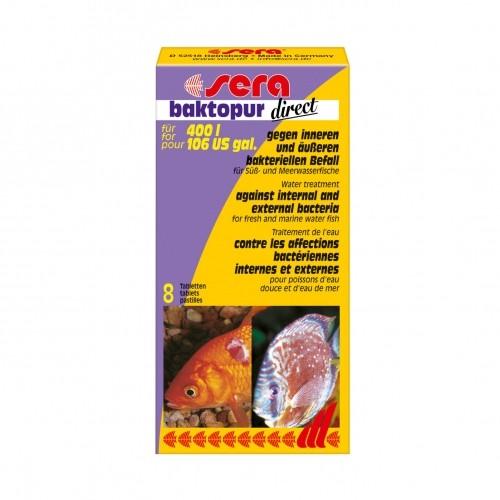 Traitement et entretien - Baktopur direct pour poissons